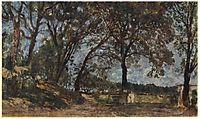 Landscape in Albano, ivanov