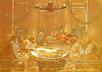 The Last Supper, 1824, ivanov