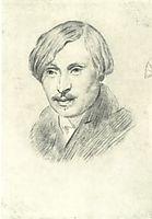 N. V. Gogol, 1841, ivanov