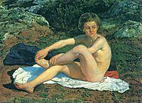 Naked boy, c.1855, ivanov