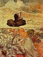 Prophet Elijah in the desert, ivanov