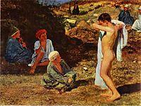 Seven Boys in Colourful Clothes, c.1845, ivanov
