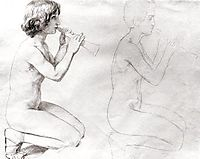 Study for the painting, , ivanov