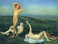 Three nude boys, ivanov