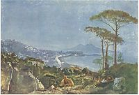 View of Naples from the road in Pozilippe, ivanov