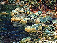 Water and stones under Palaccuolo, ivanov