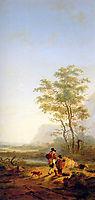 Italian landscape, jacobvanstrij