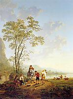 Italian landscape and ruin Merwede, jacobvanstrij