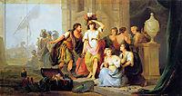 Odysseus discovers Achilles, jacobvanstrij