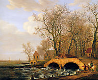 View on the Nederwaard, jacobvanstrij