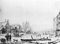 Winter Spuihaven Dordrecht, jacobvanstrij