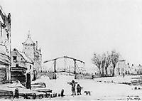 Winterscene at Spuipoort, jacobvanstrij