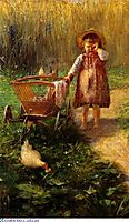 Child with Cart, jakobides