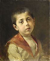 Potrait of Vassilakis Melas, 1885, jakobides