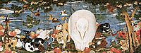 Birds, Animals, and Flowering Plants in Imaginary Scene, jakuchu