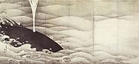 Elephant and Whale (diptych), jakuchu
