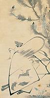 Fukurojin (Fukurokuju), the God of Longevity and Wisdom, 1790, jakuchu