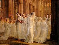 Poème de l-âme 10: Première Communion, janmot