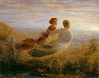 Poème de l-âme 16: Le Vol de l'âme, janmot