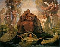 Poème de l-âme 1: Génération divine, janmot
