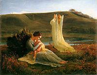 Poème de l-âme 3: L'Ange et la mère, janmot