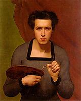 Portrait de l-artiste, 1832, janmot