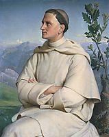 Portrait du révérend Père Henri Lacordaire, janmot