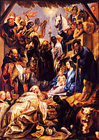 Adoration of the Magi, jordaens