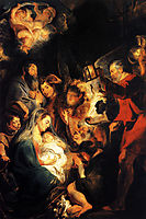 Adoration of the Shepherds, 1617, jordaens