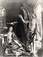 The Annunciation, c.1645, jordaens
