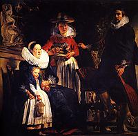 The Artist-s Family, jordaens