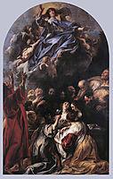 The Assumption of the Virgin, jordaens