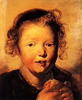Child-s head, 1620, jordaens
