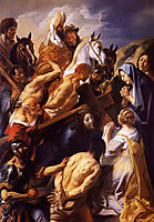Christ Carrying the Cross, 1660, jordaens
