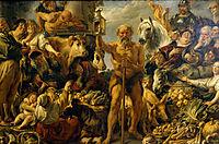 Diogenes Searching for an Honest Man, c.1642, jordaens