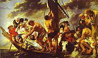 Ferry Boat to Antwerp, 1623, jordaens