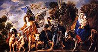 The Flight into Egypt, 1641, jordaens