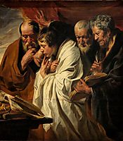 The Four Evangelists, c.1625, jordaens