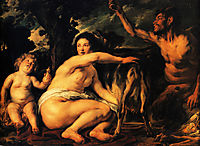 Infant Jupiter Fed by the Goat Amalthea, 1635, jordaens