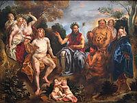 The Judgement of Midas, jordaens