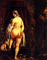 King Candaules of Lydia Showing his Wife to Gyges , 1646, jordaens