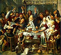 The King Drinks, 1638, jordaens