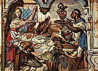 Kitchen scene, jordaens