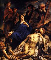 The Lamentation, c.1650, jordaens
