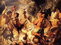 Lapiths and the Centaurs, jordaens