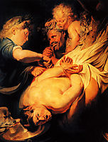 Marsyas Flayed by Apollo, 1625, jordaens