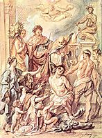 Martyrdom of St. Quentin, c.1650, jordaens