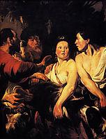 Meleager and Atalanta, 1618, jordaens