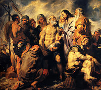 The mission of St. Peter, 1617, jordaens