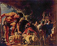 Odysseus in the Cave of Polyphemus, c.1635, jordaens